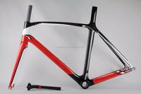 2015 top sale full carbon frame 3k Weave 25 color available Carbon Road Frame fit di2/mechanical Group race bike carbon bike