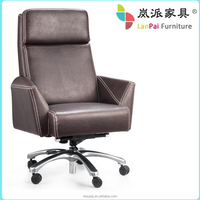 armrest ergonomic leather office chairs P22A