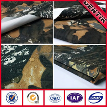 DENTIK 2-layer 100% Camouflage e-PTFE Membrane Bonded Durably Waterproof Breathable, Windproof Military Fabric