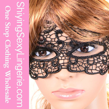 Fashion Wholesale Handmade Gothic Vintage Nightclub Party Black Lace Halloween Mask