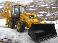 WZ30-25 top quality and pilot control loader back excavator , four drive backactor loader