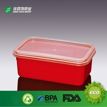 PP container red body bottle recycling plastic bottle