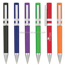 the polo pen;ink joy pen; clic pen printed logo(LU-Q40993)