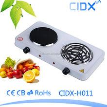 2000W 2 Burner Electric HOT PLATE (CIDX-H011)