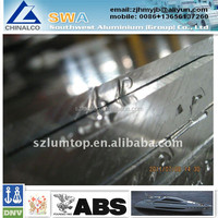 abs 4m wide 5083 marine aluminium plate for boat building with ABS DNV LR