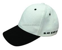 New style custom wholesale ventilate waffle baseball knit cap