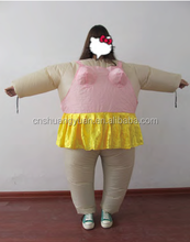 party decoration , 160 cm inflatable clothes with skirt