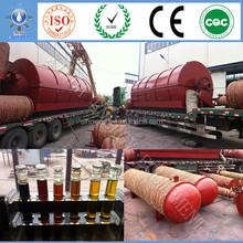 the newest generation high oil output rate 55% large capacity plastic recycling machine