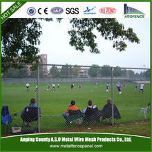 China ISO9001 chain link fence fabric / chain link fence fittings (factory)