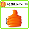 Eco-friendly pvc inflatable hand,inflateble hand with logo printing