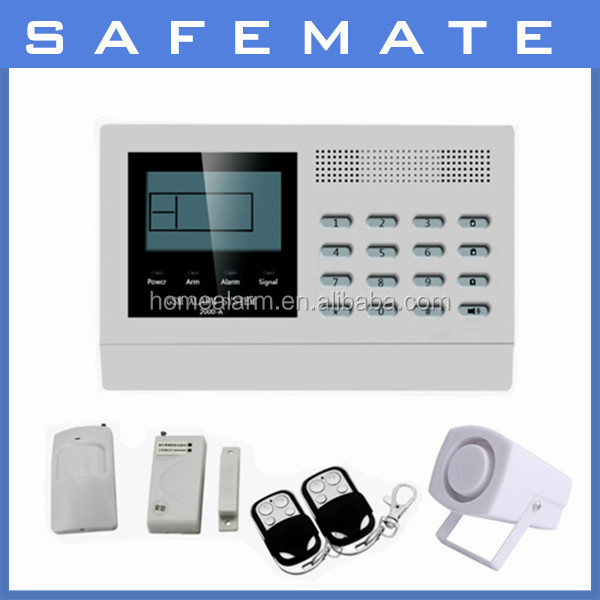 best selling home automation wireless gsm security burglar