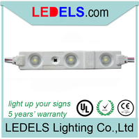 Powered by everlight 2835 led, 12 volt 2835 led modules for channel letters