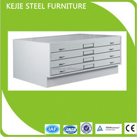 China New Arrvial Colorful Multilayer Steel Flat File Map and Drawing Cabinet Metal Plan Drawing Cabinet