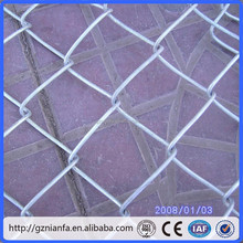 2015 New! 9 Gauge Galvanized Chain Link Fence for Garden/Farm/Zoo/Playground(Guangzhou Factory)