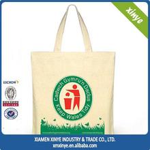 Popular elegant Hobo customized Hobo shooping blank canvas bags