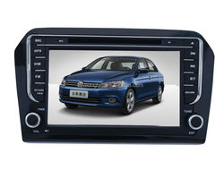 "8""Touch Screen Car DVD GPS For VW Jetta 2013 Car Audio DVD GPS For VW Jetta Audio Stereo Radio GPS iPod Bluetooth SWC AM FM AUX"