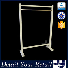 fashion style stainless steel clothes stand store furniture