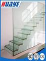 Laminado safty cristal de la escalera precio