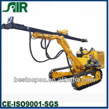 Bore Dia 90-165mm 20kw 30m deep crawler dth drill rig HCM451