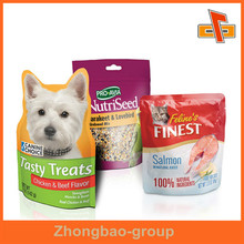 Food Grade Plastic OPP Stand Up Shaped Pouch Packing For Animal Feed / Pet Food