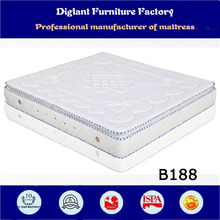 new design mattresses in walmart from chinese factory (B188)
