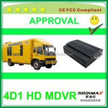 High-end security mdvr Full D1 CIF 3g gps wifi mobilr dvr with free policy for screen startup logo