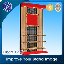 Best price retail store hot sale MDF clothing display stand/clothing backboard