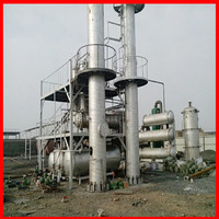 5 - 300 ton waste oil recycling Fractional Distillation Colomn