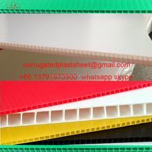 2mm 3mm 4mm 5mm Black Polypropylene Correx Sheet