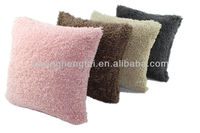 Polyester Faux Fur Plush Sofa Decorative Cushion Cover Throw Pillow case HT-PBJPC-01-