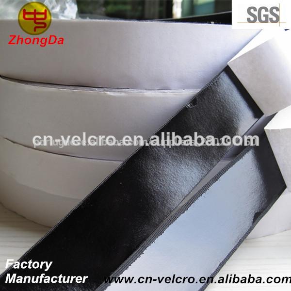Velcro Adesivo Preto 2,5cm - Macho E Fêmea Adesivado
