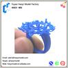 Custom prototype aluminum metal prototype cnc machining professional ring jewelry 3d model plastic and metal prototype