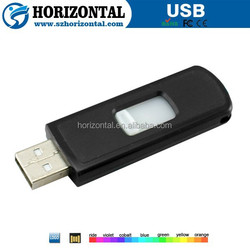 2015 hot selling plastic 8gb usb flash drive with print logo