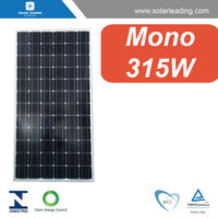 Best price 315w used solar panel connect to PV inverter for grid tie solar system on grid
