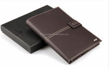 Business User Office Supply Loose Leaf Leather Agenda Notebook