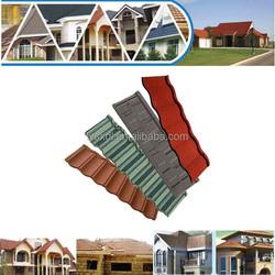 stone coated steel metal roofing tiles