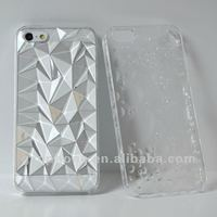 accessories for iPhone5, PC hard case with diamond design