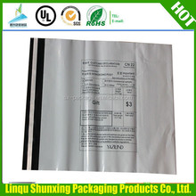 custom plastic bag printing / plastic bag for food delivery / plastic bag custom