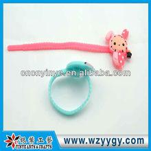 Custom soft pvc adjustable cable ties, new design PVC zip tie