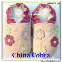 free shipping high quality new born soft sole genuine leather baby shoes kids shoes