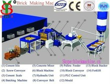 Shengya QTJ4-26c Hollow Block Molding Price Machinery for Small Industries Block Making Machinery in Algeria