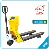 Xilin BFC6 hand pallet truck with scale