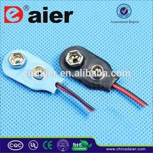 Daier battery clips and contacts