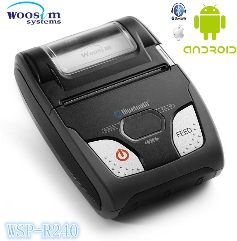 Mini Portable Bluetooth Printers Wsp-r240 Mini Android