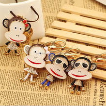 Monkey design keychain for monkey year 2016