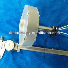 50 w 200 rpm Vertical ímã permanente gerador de baixa rpm pmg