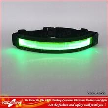LED running belt with led lights for safety