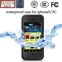 New Waterproof Shockproof Dirt Snow Proof Durable Case Cover For iPhone 5C