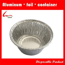 Aluminium Foil Round Disposable Food Bowl For Bakery From China Factory