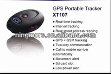 Support two way conversation five sos buttom mini gps personal locator